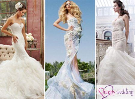 10 nhà thiết kế váy cưới đuôi cá sexy tuyệt đẹp