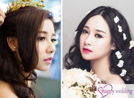 4 cách make-up quen thuộc cho cô dâu Việt