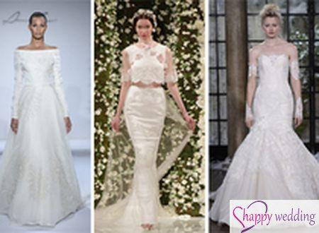 6 xu hướng thời trang váy cưới cho 2015