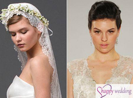 8 kiểu làm đẹp cô dâu từ tuần lễ thời trang