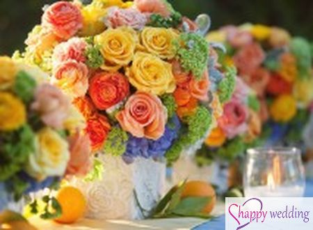 8 ý tưởng cho đám cưới mùa hè