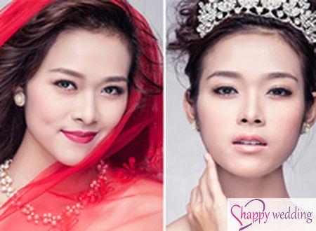 Diệp Bảo Ngọc kiêu sa với 4 kiểu make-up cưới