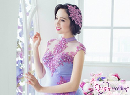 Lê Thu An chọn 7 chiếc váy cưới màu lộng lẫy