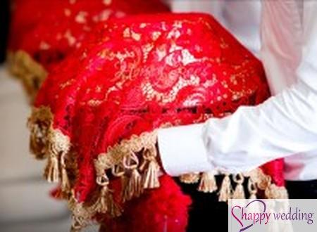 Mâm quả cưới hiện đại và sang trọng