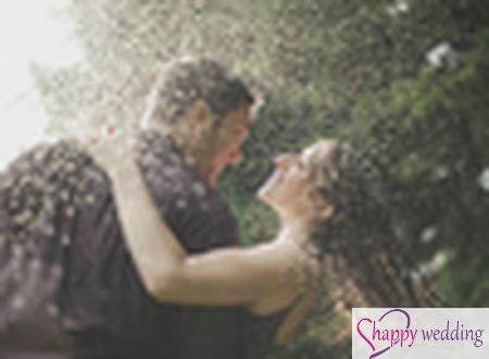 Cách chụp ảnh cưới dưới mưa lãng mạn