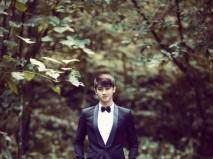Vest cưới đen với màu xanh cổ vịt - Marry