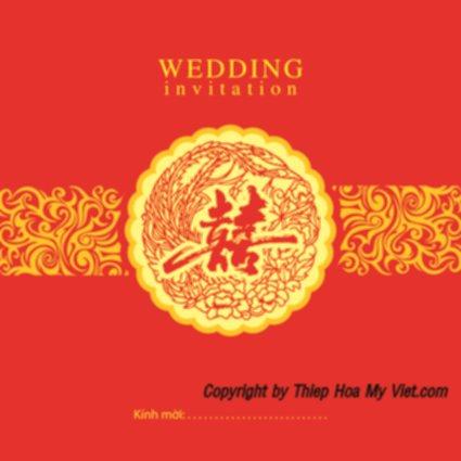 Thiệp cưới in offset – Thiệp Hoa Mỹ Việt