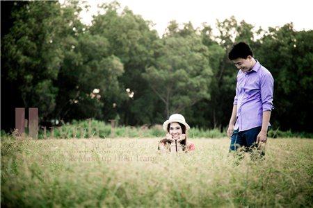 Ảnh cưới đẹp lung linh với trưa nắng hè