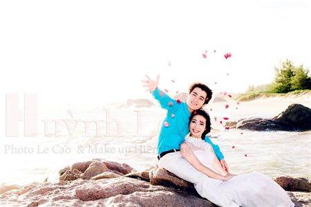 Hình cưới đẹp tại Hồ Cốc
