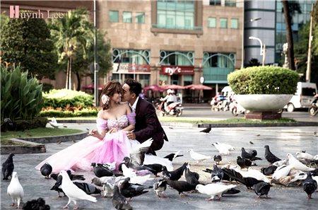 Chụp hình cưới tiết kiệm mà vẫn đẹp