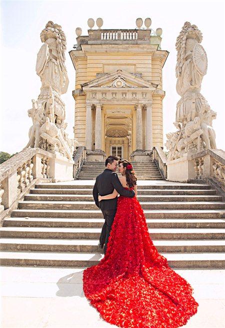 Phong cách chụp hình cưới đẹp lộng lẫy