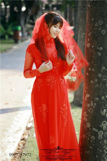May, bán áo dài cưới cao cấp giá rẻ