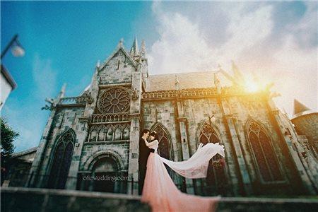 Những kinh nghiệm dành cho các đôi uyên ương khi chụp ảnh cưới phim trường