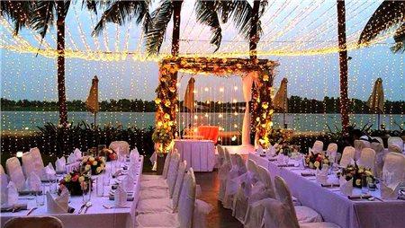 Những nhà hàng tiệc cưới ven sông với khung cảnh lãng mạn, hữu tình tại Sài Gòn hoa lệ