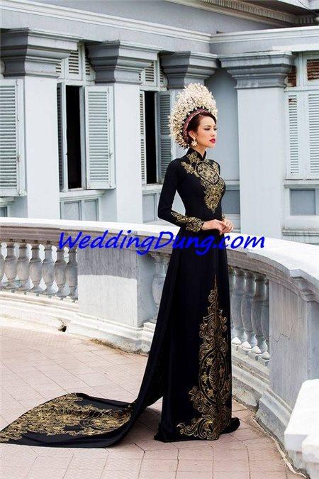 Những điều cô dâu quan tâm khi may áo dài cưới
