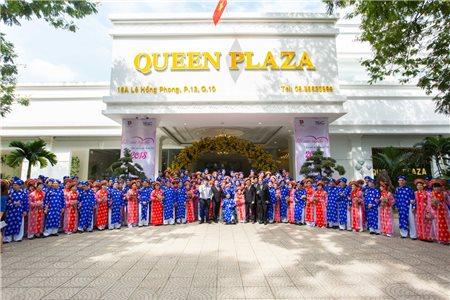 Khoảnh Khắc Xúc Động Của 100 Cặp Đôi Trong Lễ Cưới Tập Thể 2018 Tại Queen Plaza