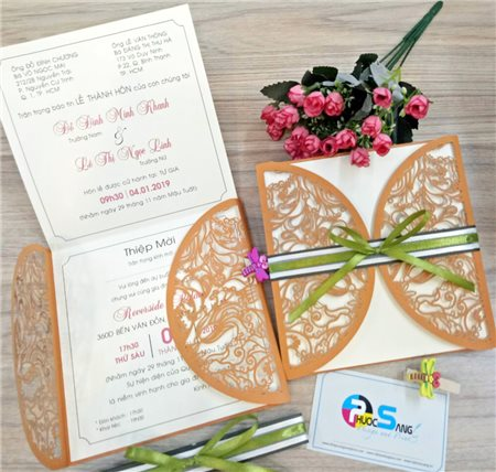 Kinh nghiệm đặt thiệp cưới đẹp giá rẻ tại Thành phố Hồ Chí Minh