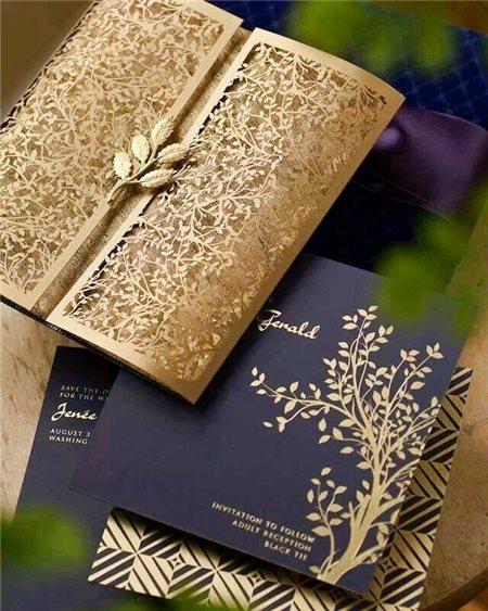 Những ý tưởng in thiệp cưới cao cấp, độc đáo dành cho các cặp đôi
