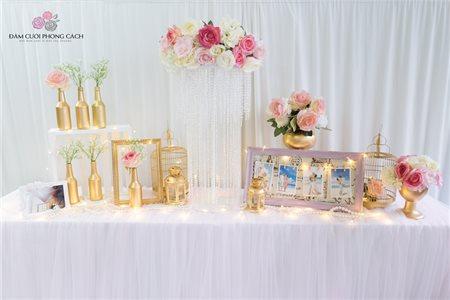 Những ý tưởng trang trí lễ cưới với dịch vụ cưới hỏi trọn gói