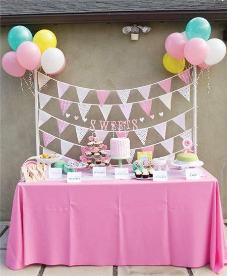 Những ý tưởng đặt tiệc sinh nhật đơn giản, ấm cúng và ấn tượng