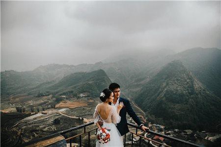 Double exposure – phong cách chụp ảnh cưới độc đáo nhất năm 2019