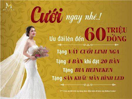 TẶNG váy cưới cao cấp Linh Nga trị giá 25 triệu