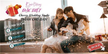 Cherry Wedding Studio - Chụp ảnh cưới phim trường và ngoại cảnh đẹp, uy tín HCM