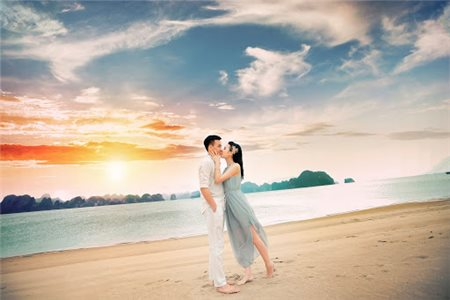 Xu thế tổ chức tiệc cưới ở biển được lòng các cặp đôi trẻ