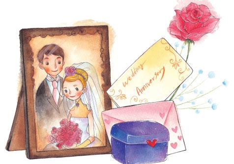 Tặng vợ nhân kỷ niệm ngày cưới
