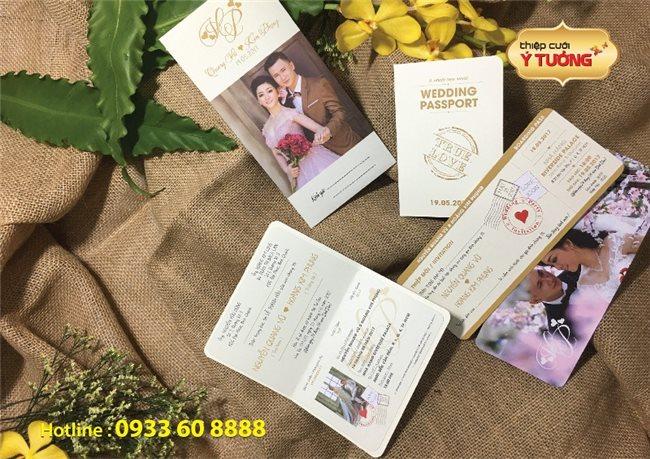 Những mẫu thiệp cưới đẹp và dễ thương năm 2018