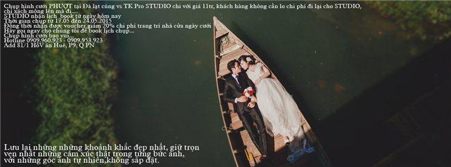 Chụp hình cưới PHƯỢT tại Đà lạt cùng vs TK Pro STUDIO chi với giá 11tr