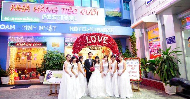 3 nhà hàng tiệc cưới uy tín xếp theo từng tiêu chí ở tp hcm