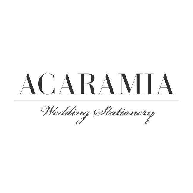 Thiệp cưới cao cấp ACARAMIA