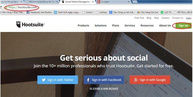 Post Bài Marketing Tự Động Lên FaceBook  & Goolge +