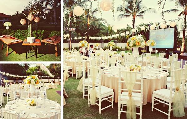Ý tưởng trang trí tiệc cưới lung linh ở nhà hàng tiệc cưới sang trọng