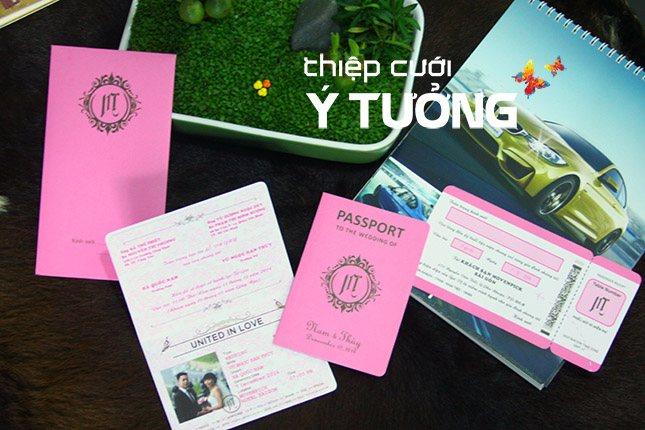 Thiệp cưới đẹp giá rẻ ở TP HCM