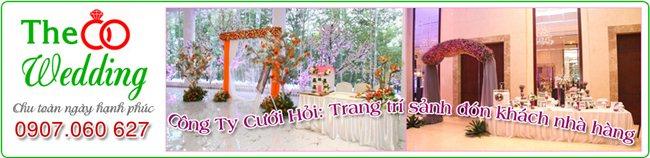 Công ty dịch vụ cưới hỏi The Wedding