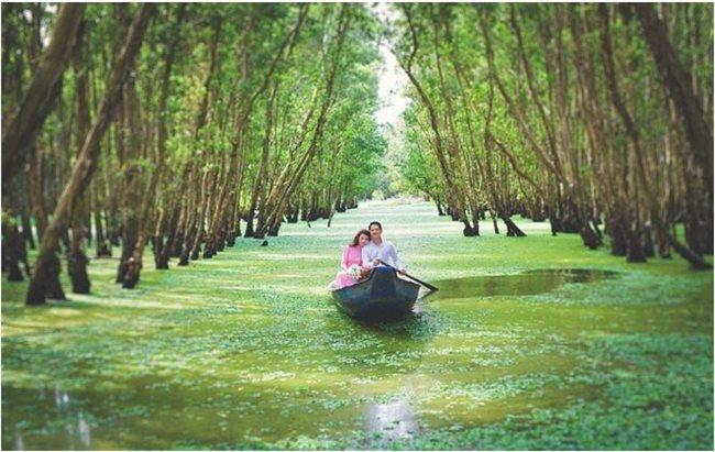 Miền Tây sông nước dân giã, hữu tình , nơi lý tưởng chụp ảnh cưới đẹp cho các cặp đôi