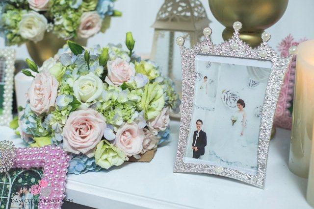 Nhung mau trang tri tiec cuoi doc dao cua Dam Cuoi Phong Cach wedding planner