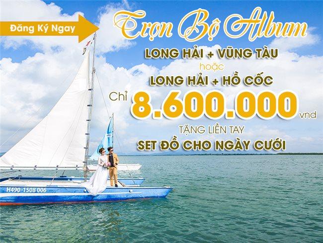 """Gói combo Wedding """"BIỂN XANH VẪY GỌI"""" siêu tiết kiệm chỉ với 8.600.000 VNĐ"""