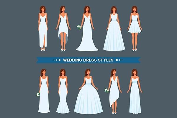 Những ý tưởng chọn lựa khi may áo cưới cao cấp dành cho cặp đôi