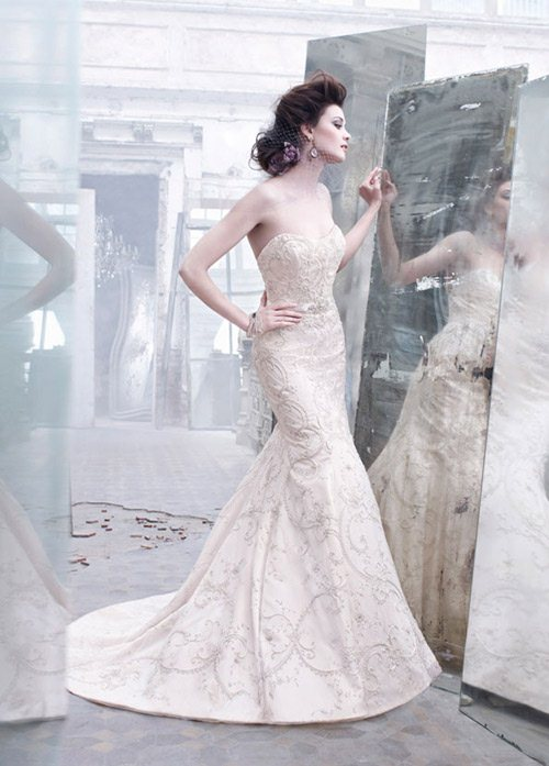 Bí quyết may áo cưới đẹp