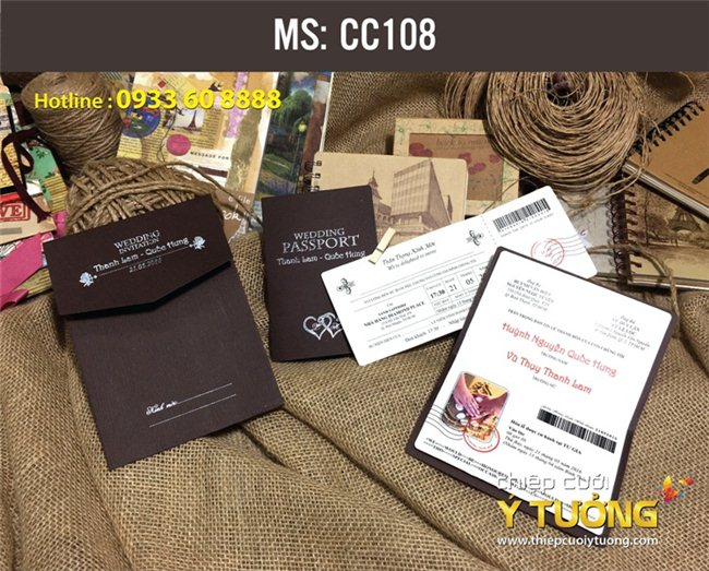 TOP 5 nhà cung cấp thiệp cưới đẹp uy tín ở TP HCM