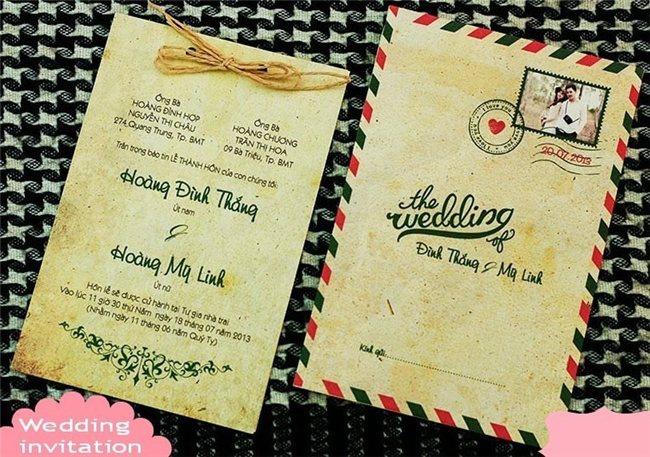 Thiệp cưới Thiên Sứ