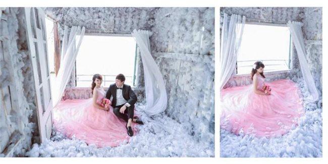 Vì sao bạn nên chụp ảnh cưới phim trường?