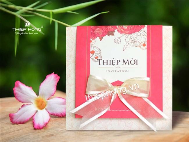 3 mẫu thiệp cưới gia rẻ đang được ưa chuộng trong năm 2019..