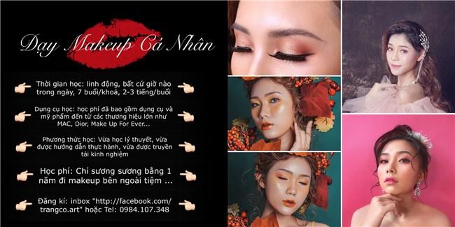 Makeup ngày cưới, Makeup cá nhân, đào tạo học viên Makeup cá nhân và chuyên nghiệp
