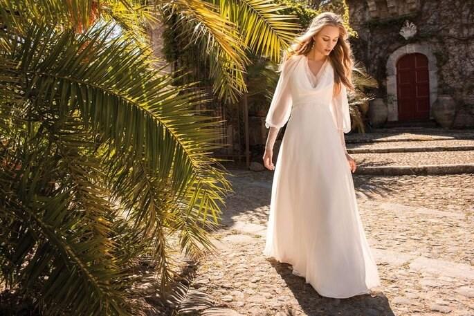 Những bộ váy cưới đẹp sang trọng và ấm áp dành cho mùa thu đông