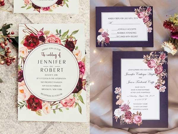Kinh nghiệm in thiệp cưới tự thiết kế vừa đẹp vừa chất lượng