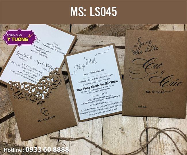 Những mẫu thiệp cưới đẹp của mùa cưới 2017 – P2